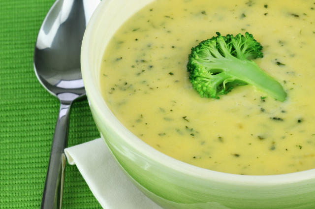 Cream of Broccoli and Cauliflower Soup | Little Choices Matter