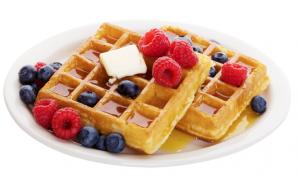 Guilt-free Waffles