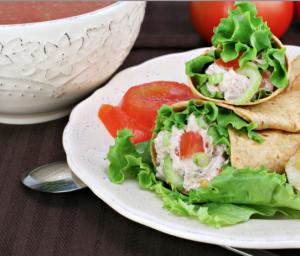 Healthy Tuna Wraps