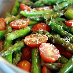 Asparagus and Tomato Delight