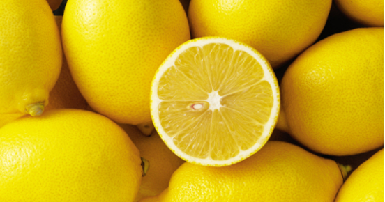 Lemons are powerful for the skin!