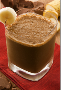 Nutritious Banana & Chocolate Smoothie