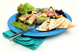 Crisp Pita Salad