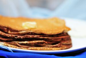 Flourless Flaxseed Pancakes
