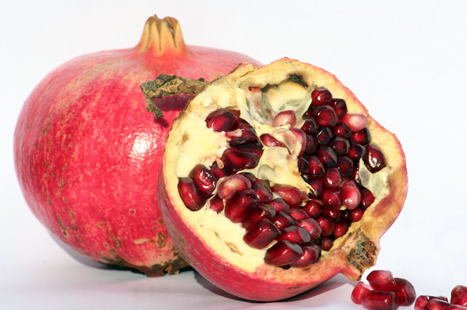 Pomegranates have many health benefits!