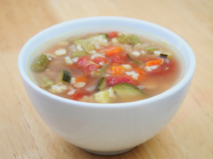 Scrappy Chicken Soup