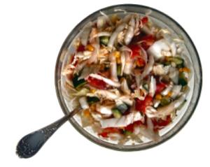 Sassy Crunchy Salad