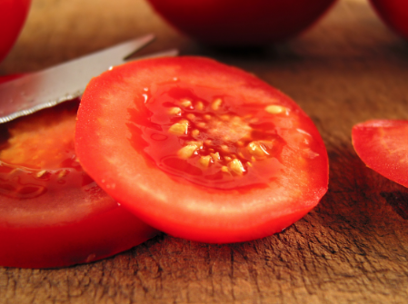 is tomato a fruit least healthy fruit