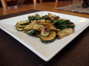 Stir-Fry Zucchini