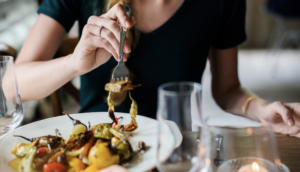 Avoid overeating at a meal!