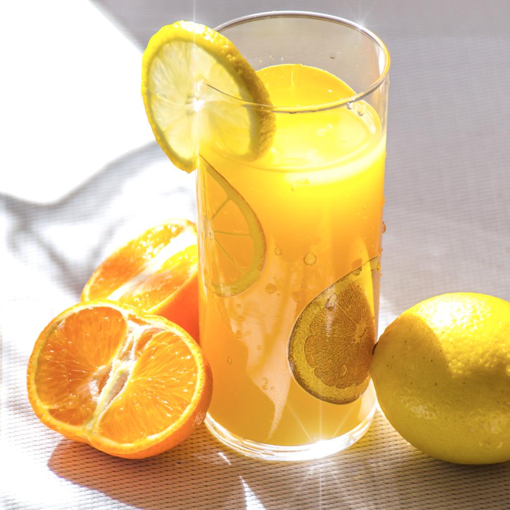Beverages with citrus fruits burn fat!