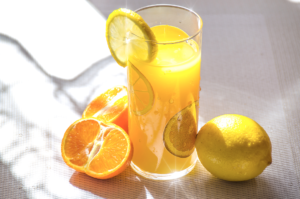 Beverages with citrus fruits burn fat!