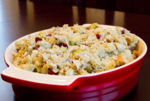 Thanksgiving Gluten Free Stuffing