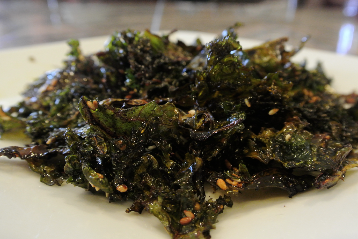 kale chips sesame salt kale chips roasted kale chips with sea salt and ...