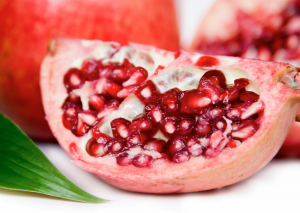 Pomegranates – great inside and out!