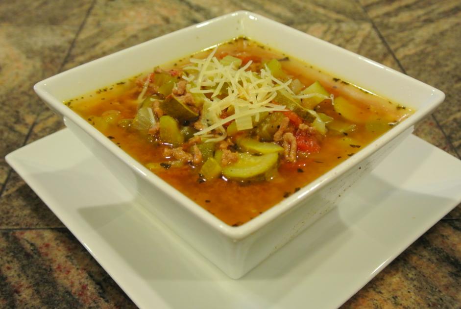 Turkey Zucchini Soup | Little Choices Matter