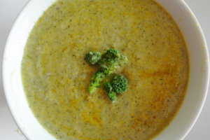 Curry Cauliflower & Broccoli Soup
