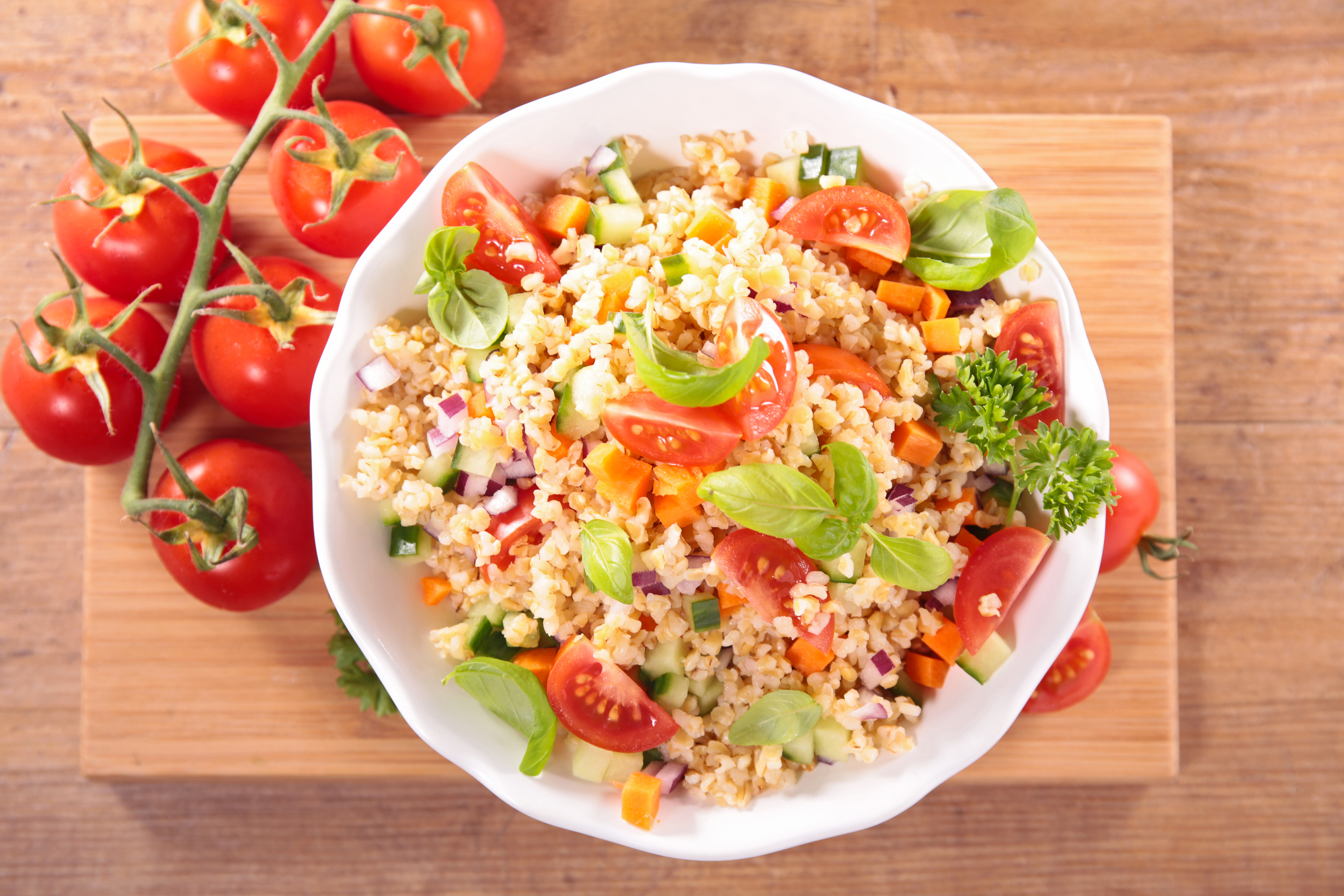 Cool Down with a Quinoa Salad