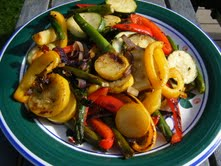 Roasted Mixed Veggies