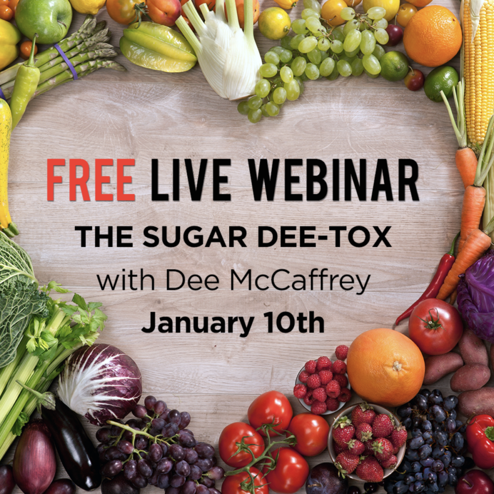Free Live Detox Webinar Wednesday